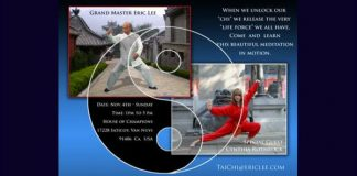 Eric Lee Fundamental of Tai Chi Workshop