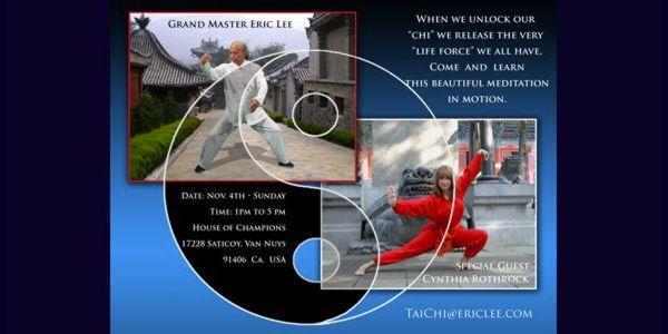 Eric Lee Fundamental of Tai Chi Workshop