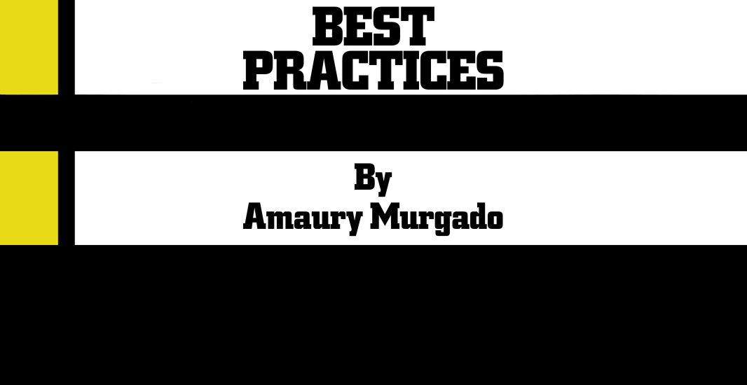 Best Practices by Amaury Murgado