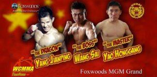 China vs. USA MMA super event