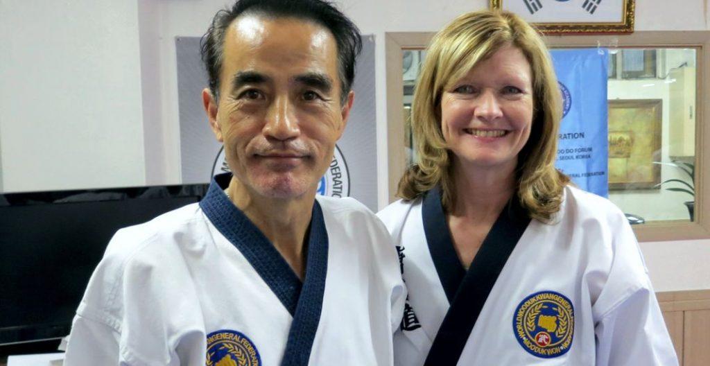 Il-Do Chang and Dana Stamos Seoul Korea 2012