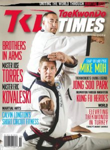 Jose Torres on the cover of Tae Kwon Do Times