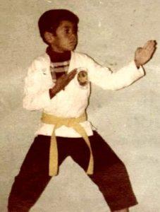 Young Sergio Corral