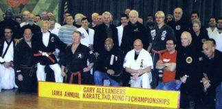 Gary Alexanders IAMA Annual Karate, TKD, Kung Fu Championships