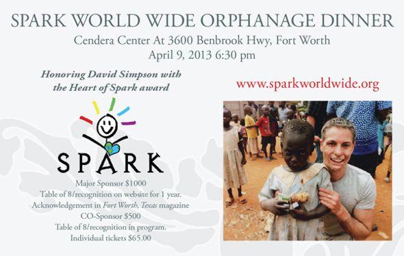 Sparks World Wide Orphanage Dinner