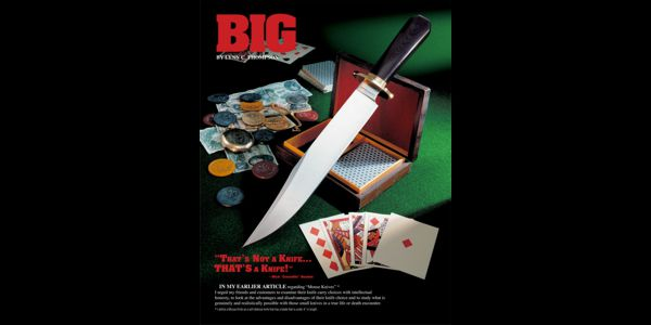 That's A BIG Knife