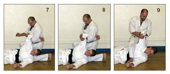 The Basics of Bunkai: Part 4 Figure 7-8-9