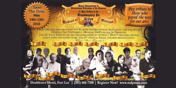 MAU Event Flyer 2013 Year Tribute to the Grandmasters in Action