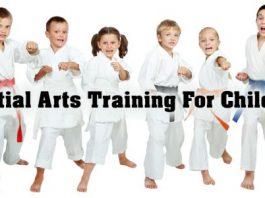 Martial Arts Training For Children