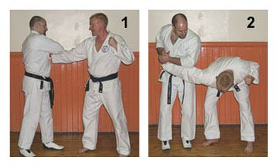 The Basics of Bunkai: Part 7 Figures 1-2