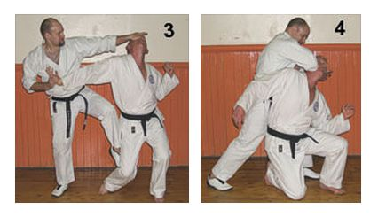 The Basics of Bunkai – Part 7 Figures 3-4