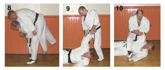 The Basics of Bunkai – Part 7 Figures 8-10