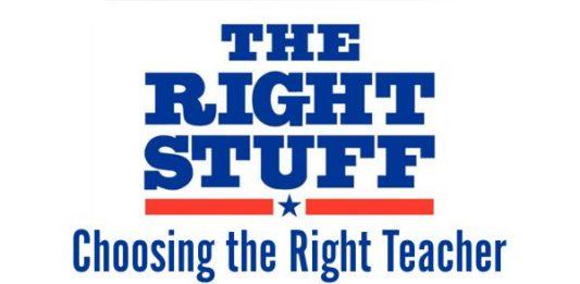 Choosing the Right Teacher