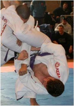 Gregory Melita practicing Brazilian Jiu Jitsu