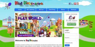 KidKulinaire.com Web Site