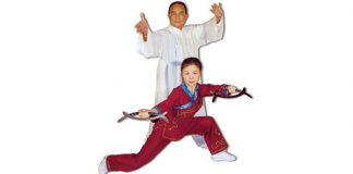 Grandmaster Liang Shou-Yu and His Daughter Helen