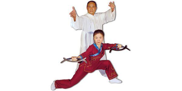Grandmaster Liang Shou-Yu and His Daughter Helen