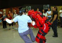 Women's Self Defense with Redman Suit
