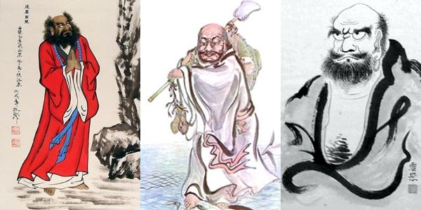Ta Mo of Kung Fu and Wu Shu
