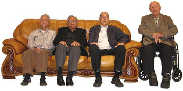 Ming Lum Ralph Castro Wally Jay, Al Novak