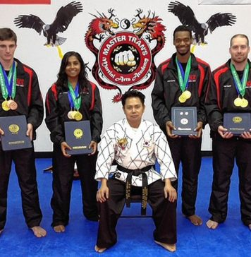 USA Team competed in the International Hapkido Federation's Ninth Triennial World Championship