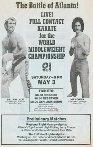1975 Wwallace and Corley Newspaper Ad