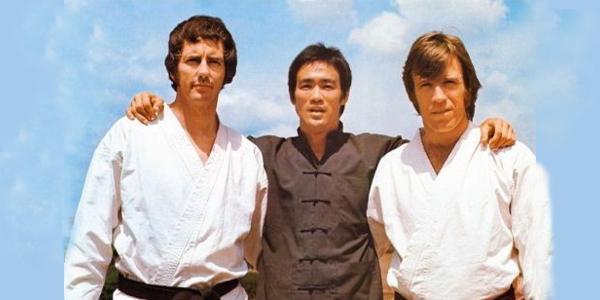 Bob Wall, Bruce Lee, Chuck Norris