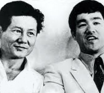 Jack Wong and Bruce Lee