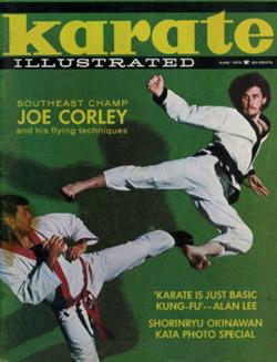 Joe Corley Karate Illustrated Cover