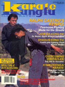 Ralph Castro Karate Kung Fu Cover