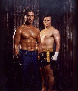 Richard Norton and Benny Urquidez