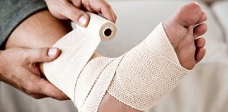 Wrap Martial Arts Injury