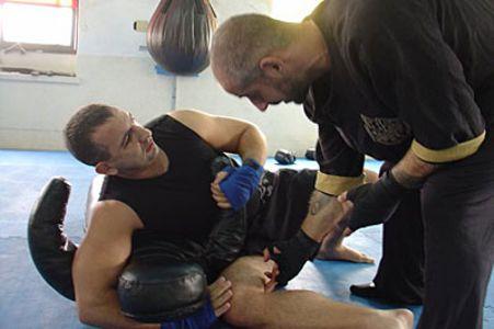 Master Al Haroun Hisham and Antonio Graceffo