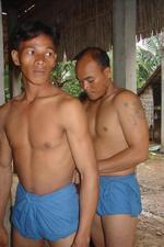 Khmer Traditional Wrestling Loin Cloth