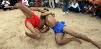 Khmer Wrestling