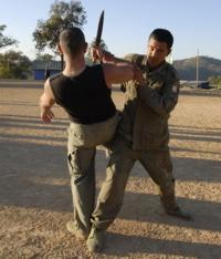 Antonio Graceffo teaches practical fighting in the War in Burma