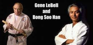 Gene LeBell and Bong Soo Han