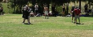 Stickfighting Panorama