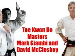 Masters Mark Giambi and David McCloskey