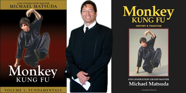 Michael Matsuda Monkey Kung Fu Book and DVDs
