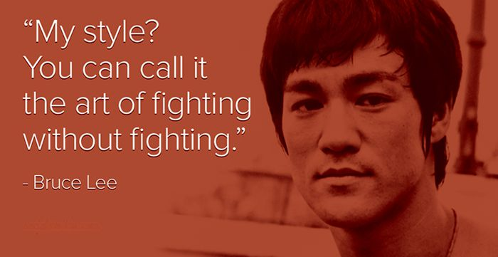 The Art of Fighting Without Fighting Quote