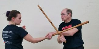 Dan Anderson teaching Eskrima