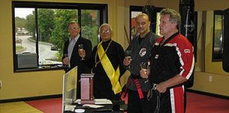 Dennis Nackford Promoted to 9th Degree