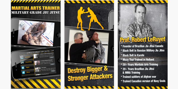 Martial Arts Trainer App