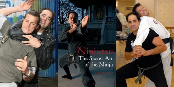 Ninjutsu: The Secret Art of the Ninja by Simon Yeo