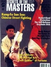 Terry L Wilson on Cover of Secret of the Masters