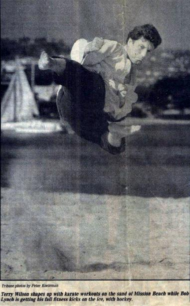 Terry L Wilson Flying Side Kick