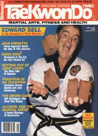 Sr. Grandmaster Edward B. Sell TKD Times Cover