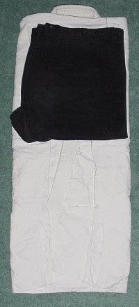 Folding the Gi: Pants on Gi Jacket Flat