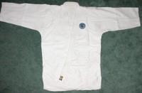Folding the Gi: Gi jacket flat